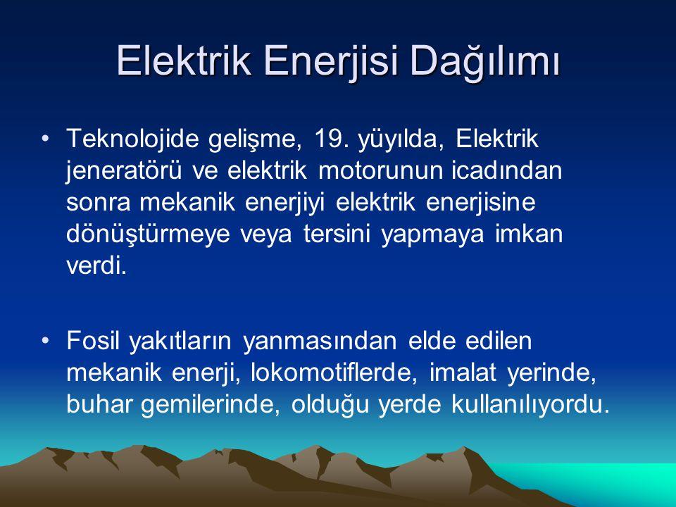 Elektrik Enerjisi Dağılımı Teknolojide gelişme, 19.