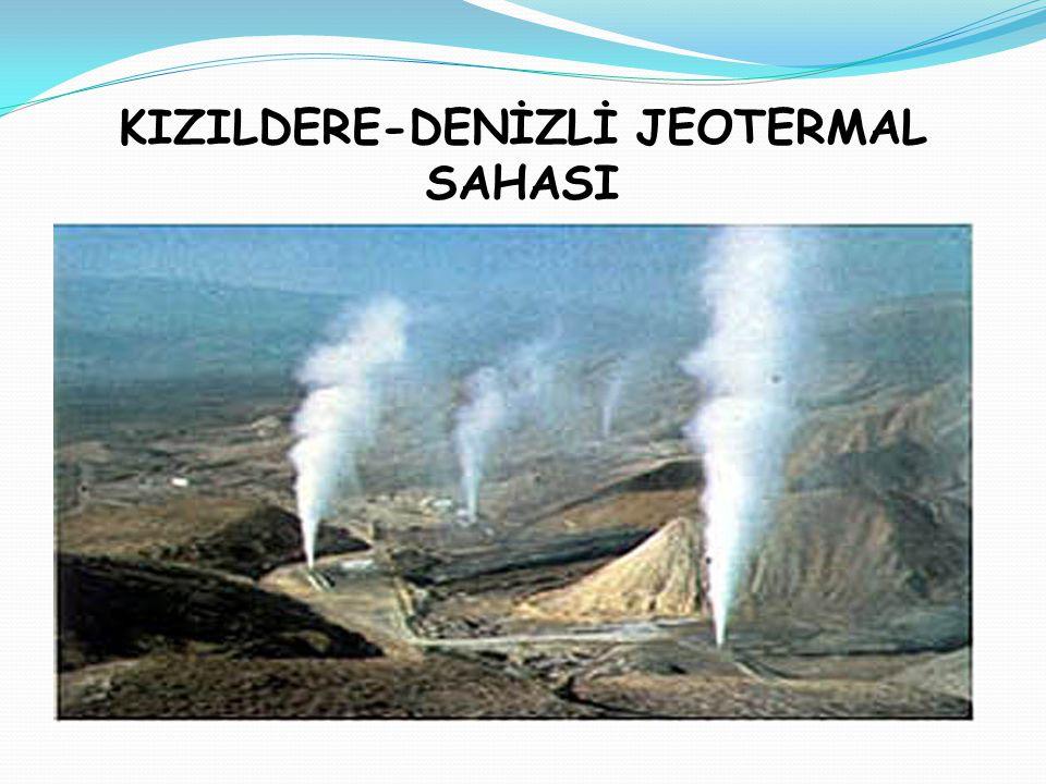 KIZILDERE-DENİZLİ JEOTERMAL SAHASI
