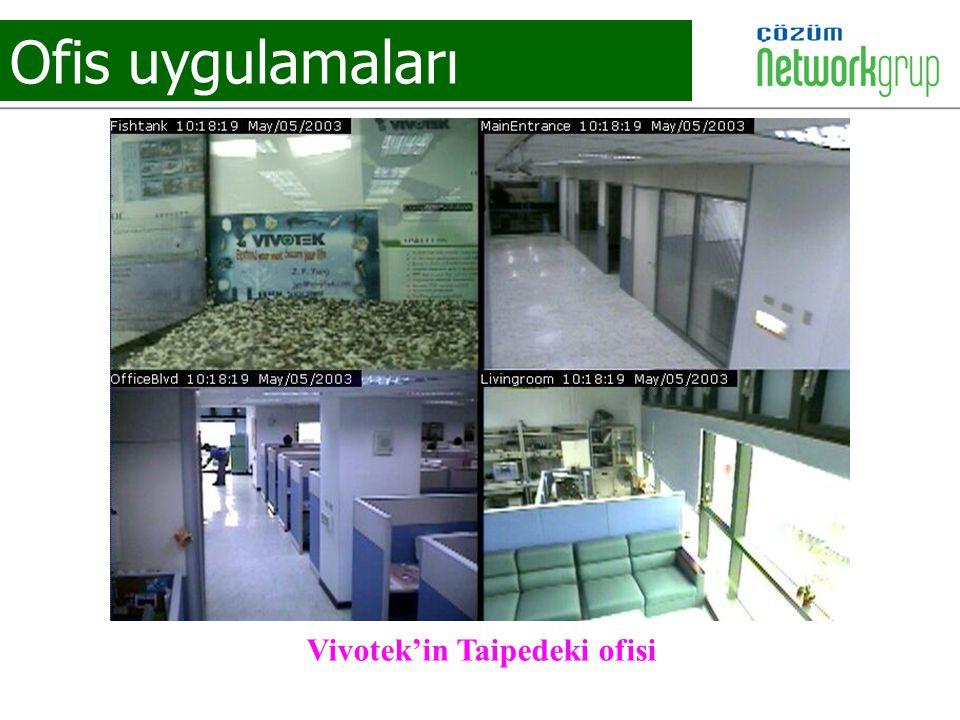 Ofis uygulamaları Vivotek'in Taipedeki ofisi