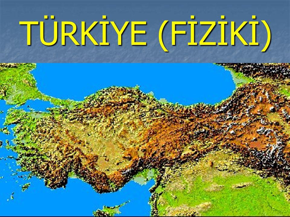 TÜRKİYE (FİZİKİ)