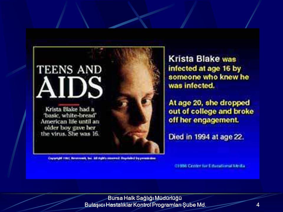İŞİNİZİ ŞANSA BIRAKMAYIN. AIDS'DEN KORUNUN.
