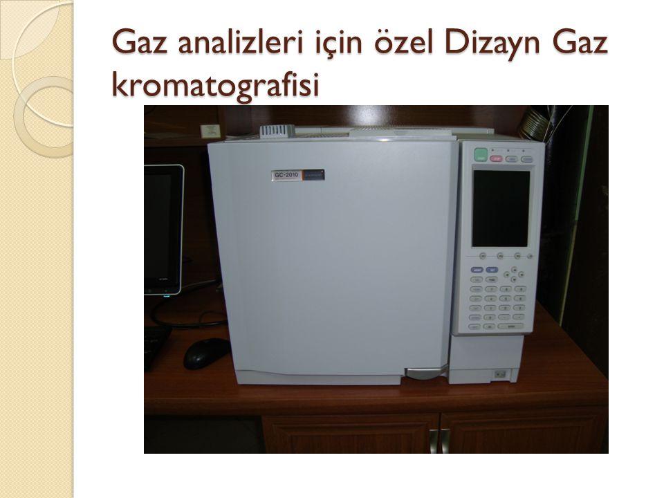 Gaz analizleri için özel Dizayn Gaz kromatografisi