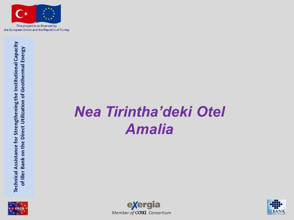 Member of Consortium This project is co-financed by the European Union and the Republic of Turkey Pikermi'de iki aileli ev