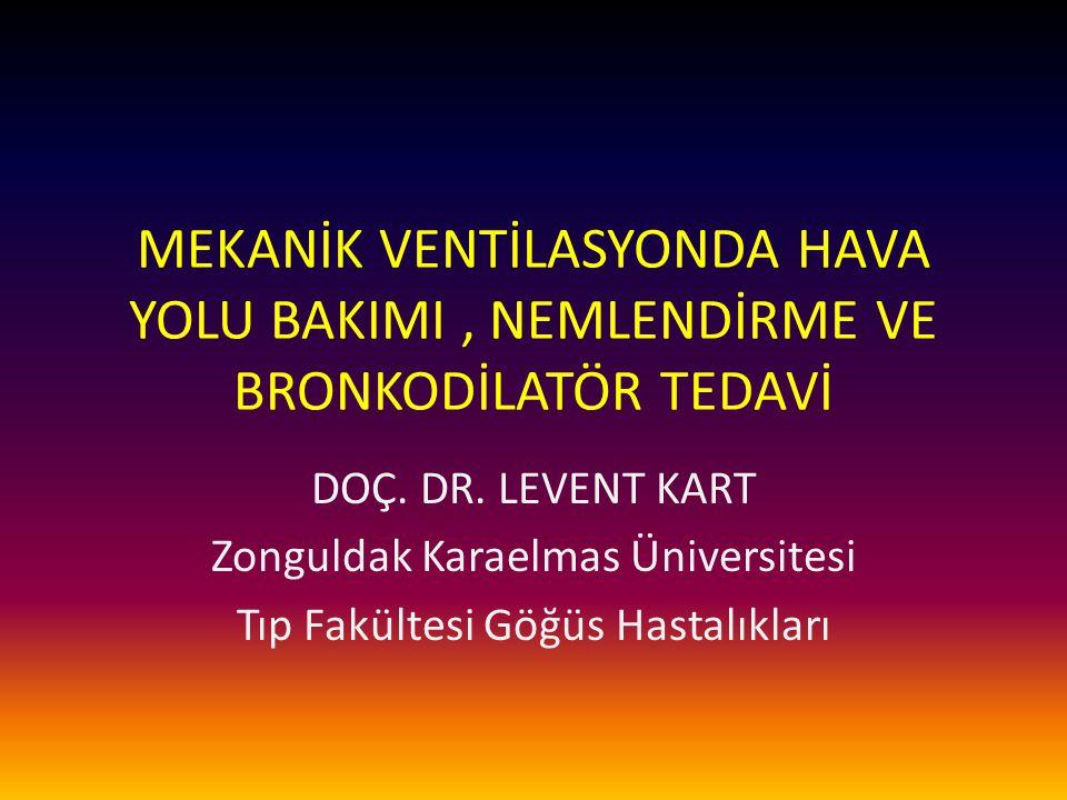Kaf bakımı, izlemi Değişik kaf basınçlarında oluşan etkiler – > 30 mmHg: Arteriyel akım obstrüksiyonu, iskemi, ülserasyon, stenoz Uzun süreli entübasyonda; – trakea kartilaj hasarı, – trakeomalazi, – Trakea özefagial fistul – > 20 mmHg: Venöz akım obstrüksiyonu, konjesyon – > 5 mmHg: Lenfatik akım obstrüksiyonu, ödem 04.04.201512Kart L.