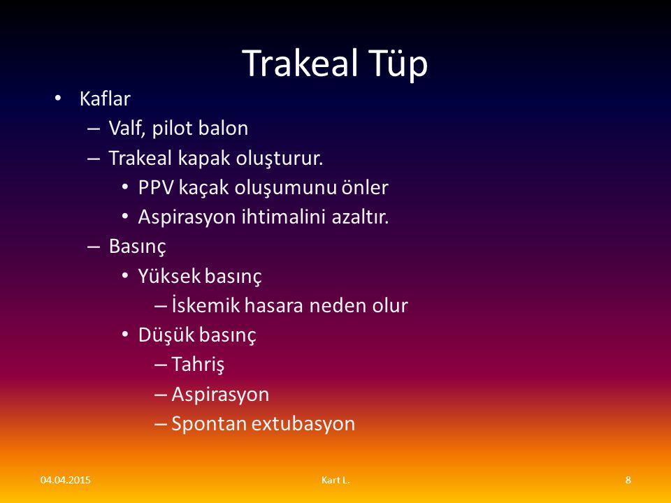 Trakeal tüpün çıkarılması (dekanülasyon) En az 24 saatlik BİPAP desteği olmadan spontan solunum olmalı sekresyonlar az olmalı veya orofaringial olarak temizlenebilir olmalı.