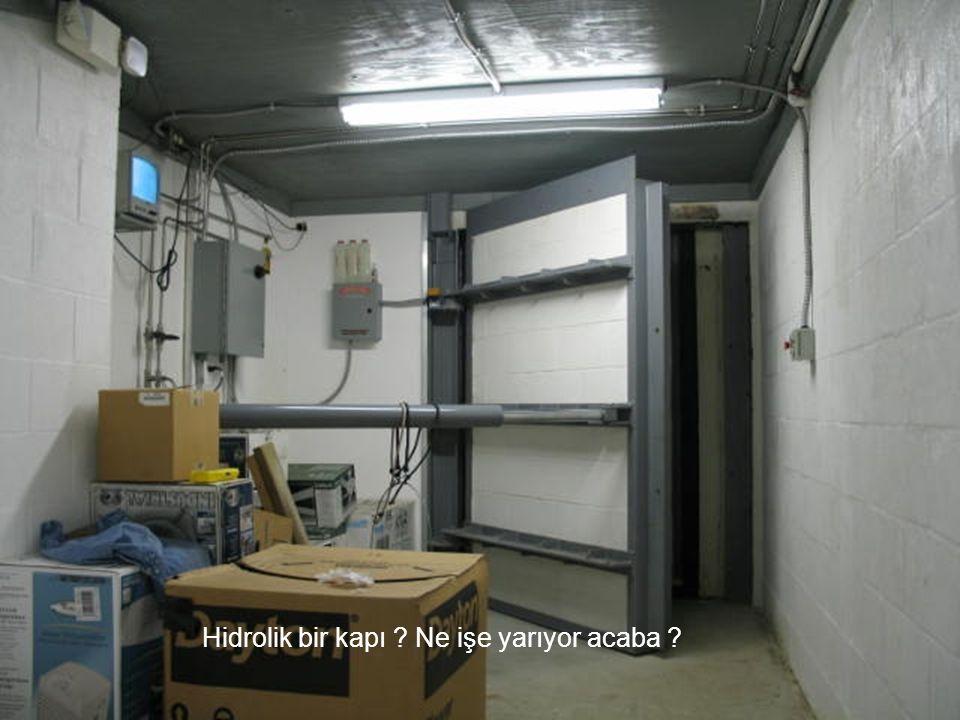Hidrolik bir kapı ? Ne işe yarıyor acaba ?