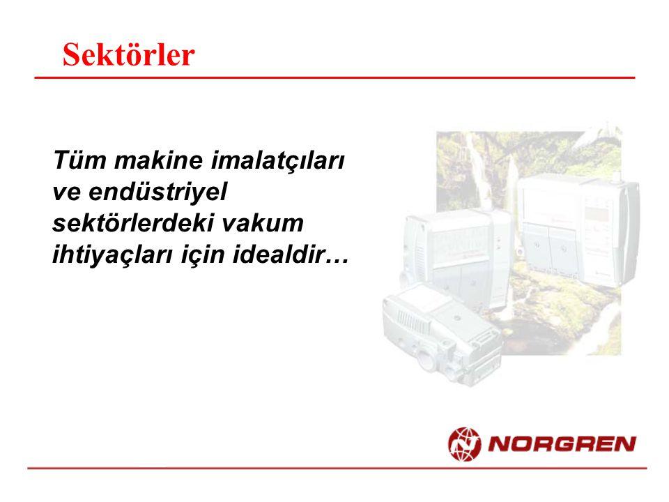 Sektörler Tüm makine imalatçıları ve endüstriyel sektörlerdeki vakum ihtiyaçları için idealdir…
