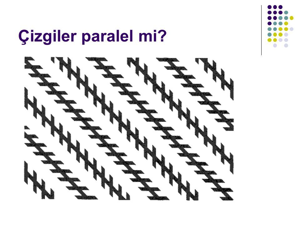 Çizgiler paralel mi?