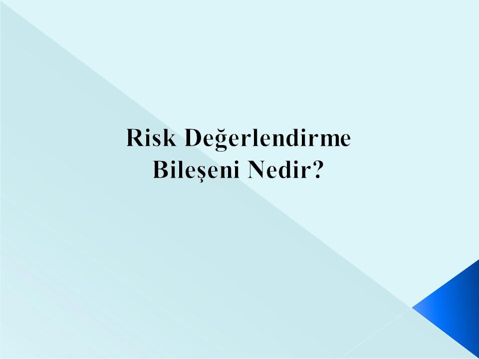 Riske Tepkiler Risklerin kabul edilmesi : Risklerin kabul edilmesi, kurumun her hangi bir önlem almaksızın maruz kalmaya katlanmasıdır.