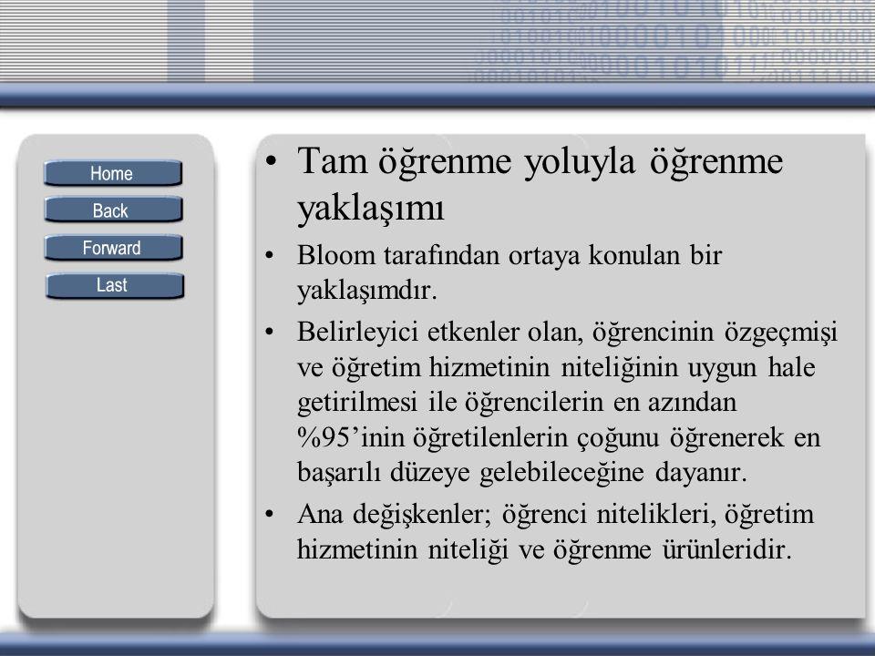 Türkçe dersi için önerilen araçlar I.II. ve III.