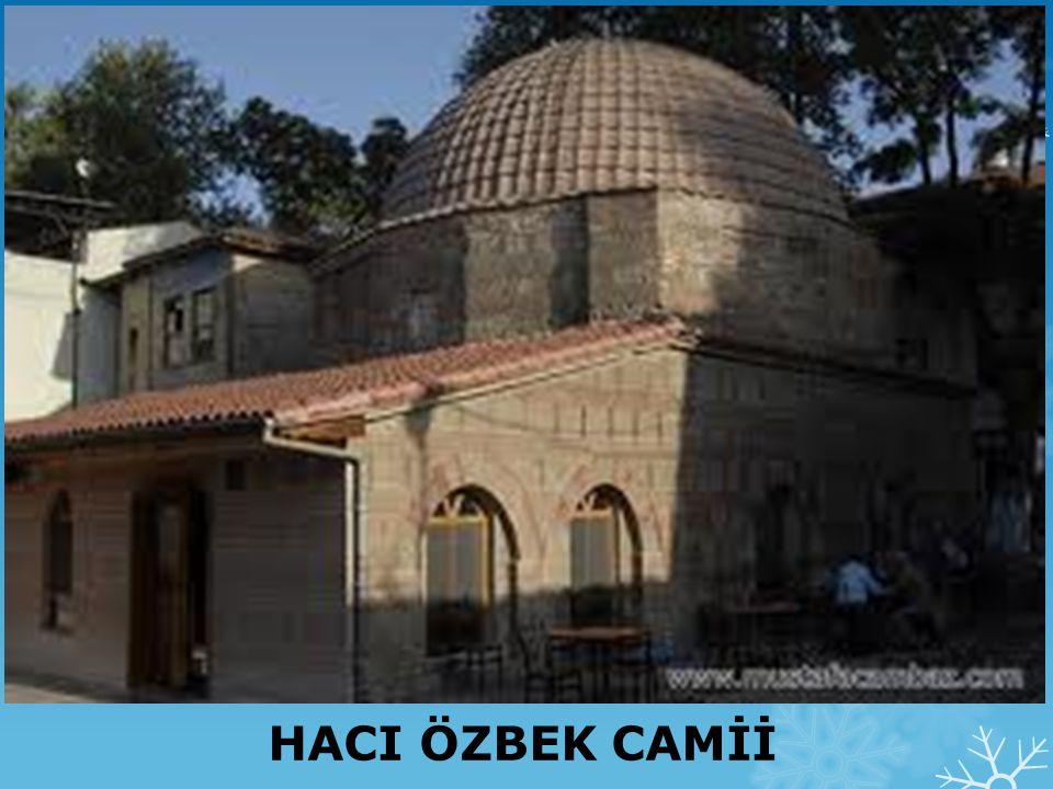 İznik Hacı Hamza Camii ve Kümbeti