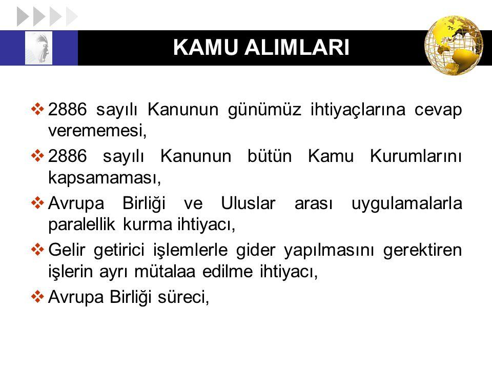 22/ I BENDİ KAPSAMINDA YAPILACAK ALIMLAR 22/ı Türkiye İş Kurumunun, 25/6/2003 tarihli ve 4904 sayılı Kanunun 3 üncü maddesinin (b) ve (c) bentlerinde sayılan görevlerine ilişkin hizmet alımları ile 25/8/1999 tarihli ve 4447 sayılı İşsizlik Sigortası Kanununun 48 inci maddesinin yedinci fıkrasında sayılan görevlerine ilişkin hizmet alımları Türkiye İş Kurumunun görevlerine ilişkin hizmet alımları da doğrudan temin kapsamına alınmıştır.
