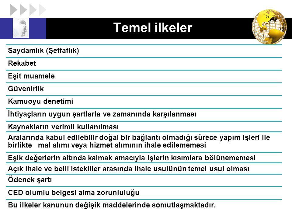 Tip Sözleşmeler 30 Mal veya hizmet alımları ile yapım işlerine ilişkin Tip Sözleşmeler Resmi Gazetede yayımlanır.