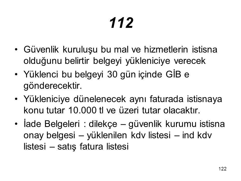 123 13/g (II) sayılı listedeÖTV Kanununa ekli (II) sayılı listede yer alan malların, merkez teşkilatına –Başbakanlık merkez teşkilatına teslimi,