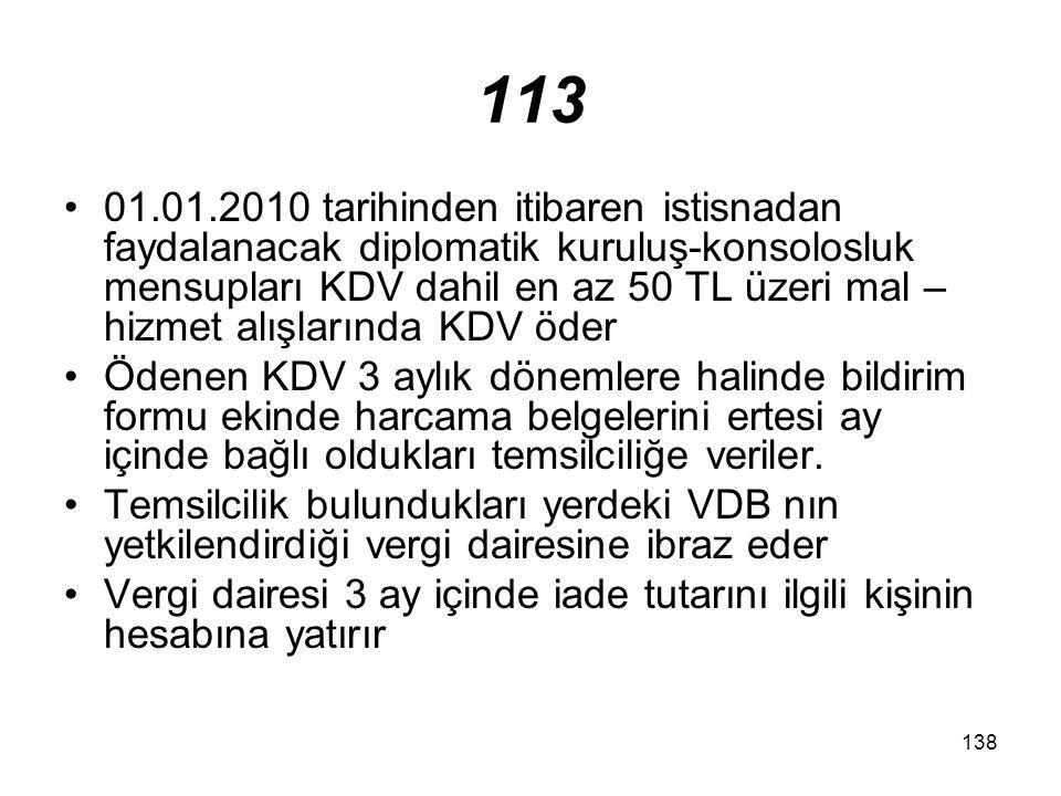 139 16.İthalat İstisnası 1.