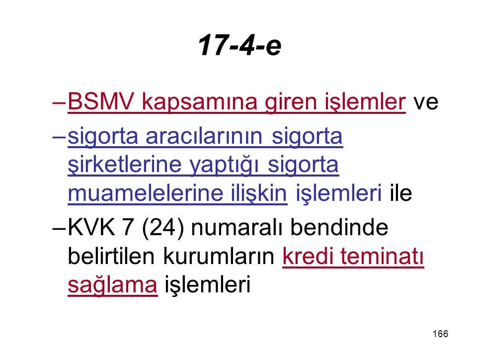 167 17-4-f Darphane ve Damga Matbaası tarafından yapılan teslim ve hizmetler,