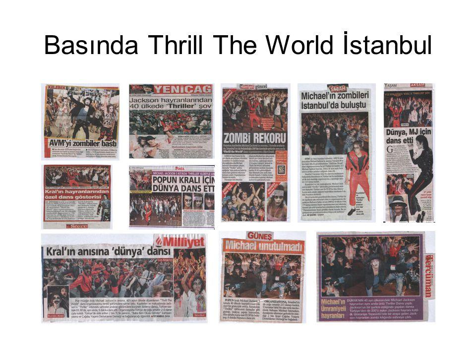 Basında Thrill The World İstanbul