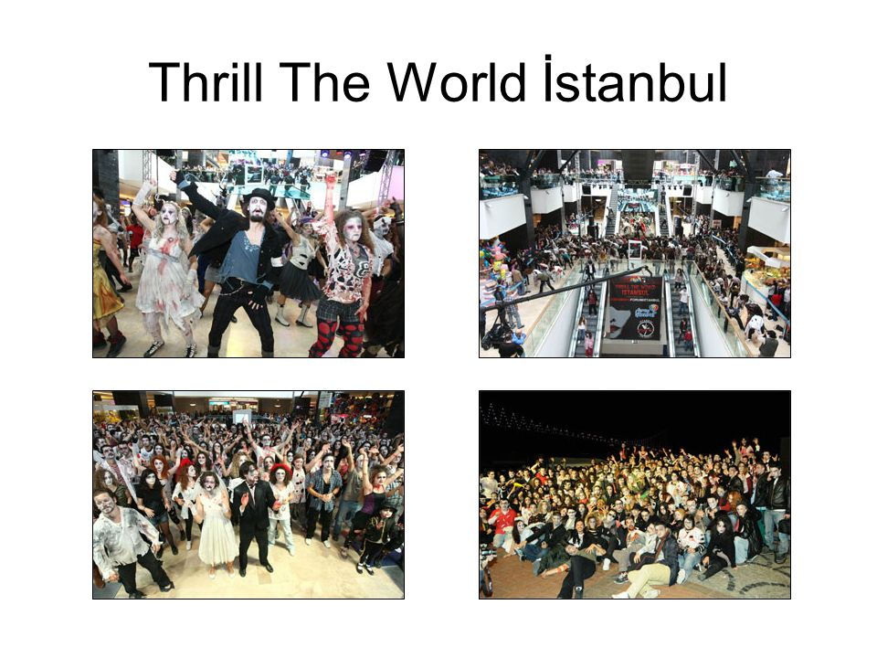 Thrill The World İstanbul