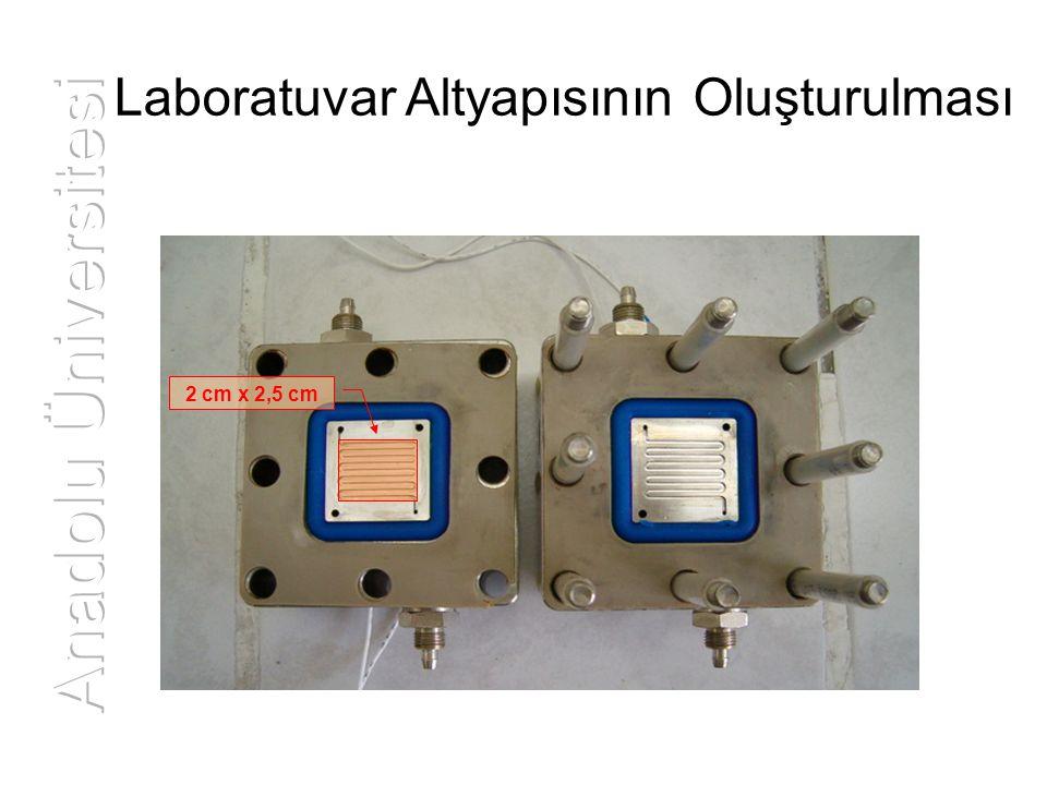 Laboratuvar Altyapısının Oluşturulması 2 cm x 2,5 cm