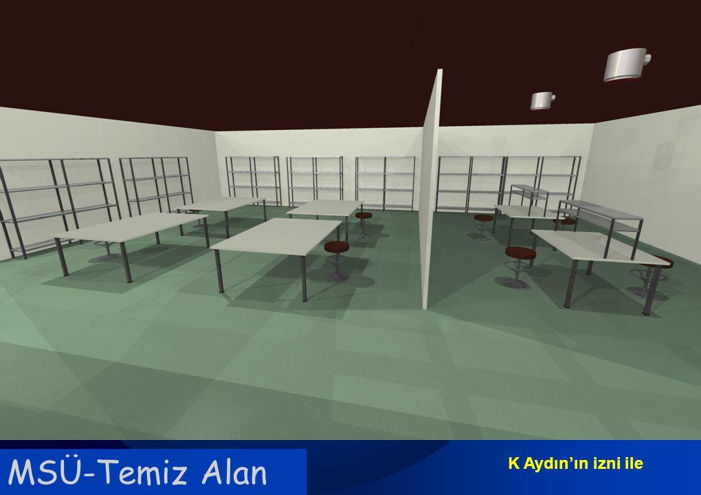 Sağlık Bakanlığı Enfeksiyon Kontrol Hemşireliği Eğitimi MSÜ-Temiz Alan K Aydın'ın izni ile