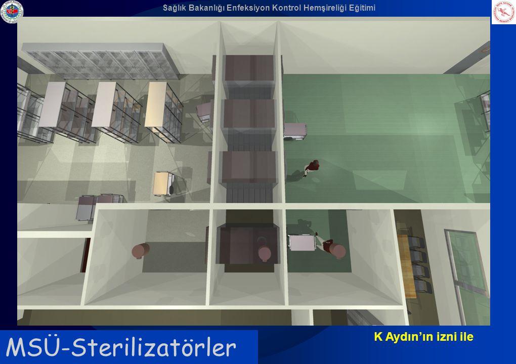 Sağlık Bakanlığı Enfeksiyon Kontrol Hemşireliği Eğitimi MSÜ-Sterilizatörler K Aydın'ın izni ile
