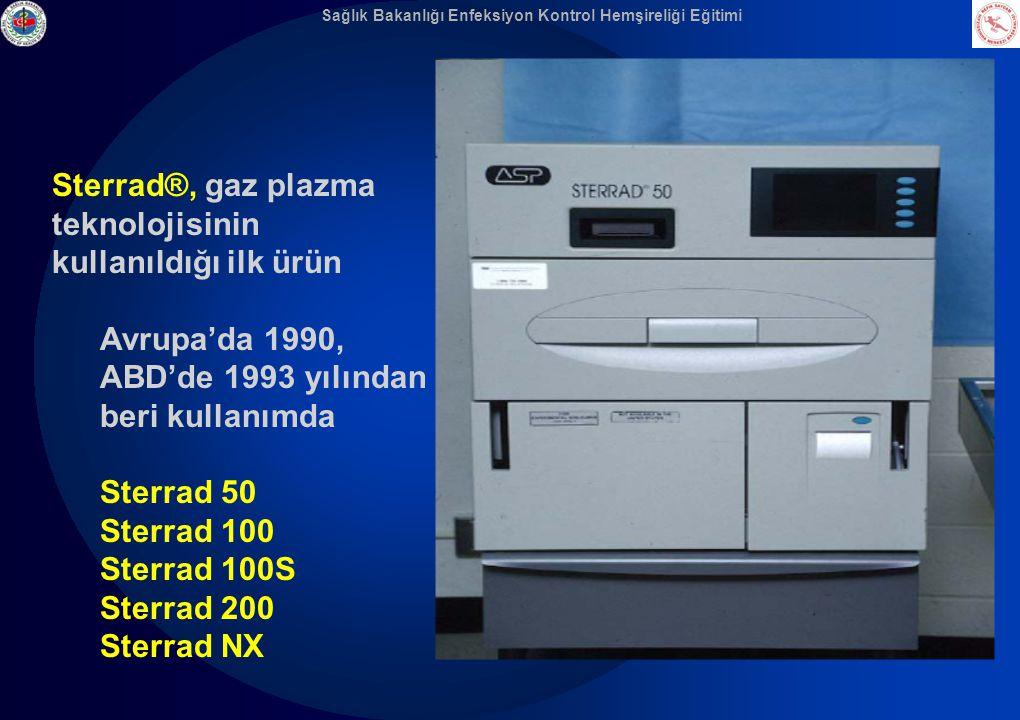 Sağlık Bakanlığı Enfeksiyon Kontrol Hemşireliği Eğitimi Sterrad®, gaz plazma teknolojisinin kullanıldığı ilk ürün Avrupa'da 1990, ABD'de 1993 yılından