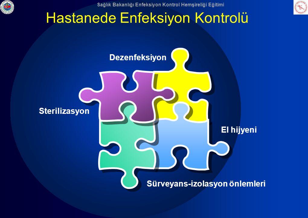 Sağlık Bakanlığı Enfeksiyon Kontrol Hemşireliği Eğitimi Hastanede Enfeksiyon Kontrolü El hijyeni Sterilizasyon Dezenfeksiyon Sürveyans-izolasyon önlem