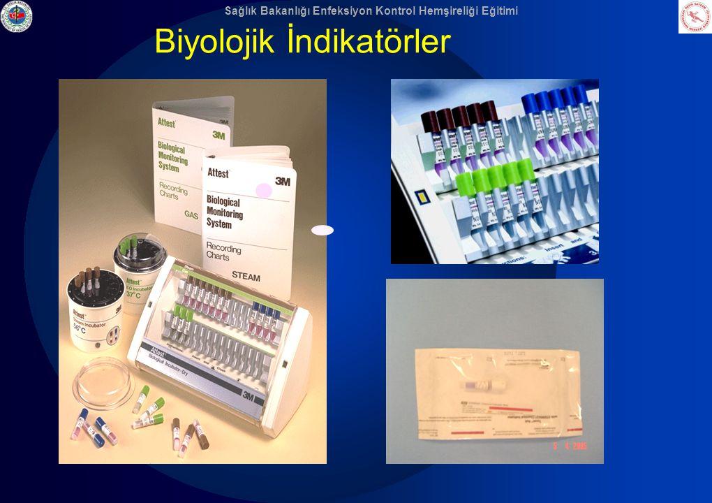 Sağlık Bakanlığı Enfeksiyon Kontrol Hemşireliği Eğitimi Biyolojik İndikatörler
