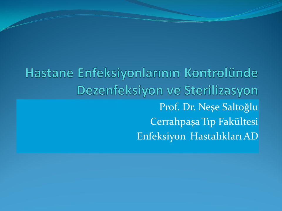 Prof. Dr. Neşe Saltoğlu Cerrahpaşa Tıp Fakültesi Enfeksiyon Hastalıkları AD