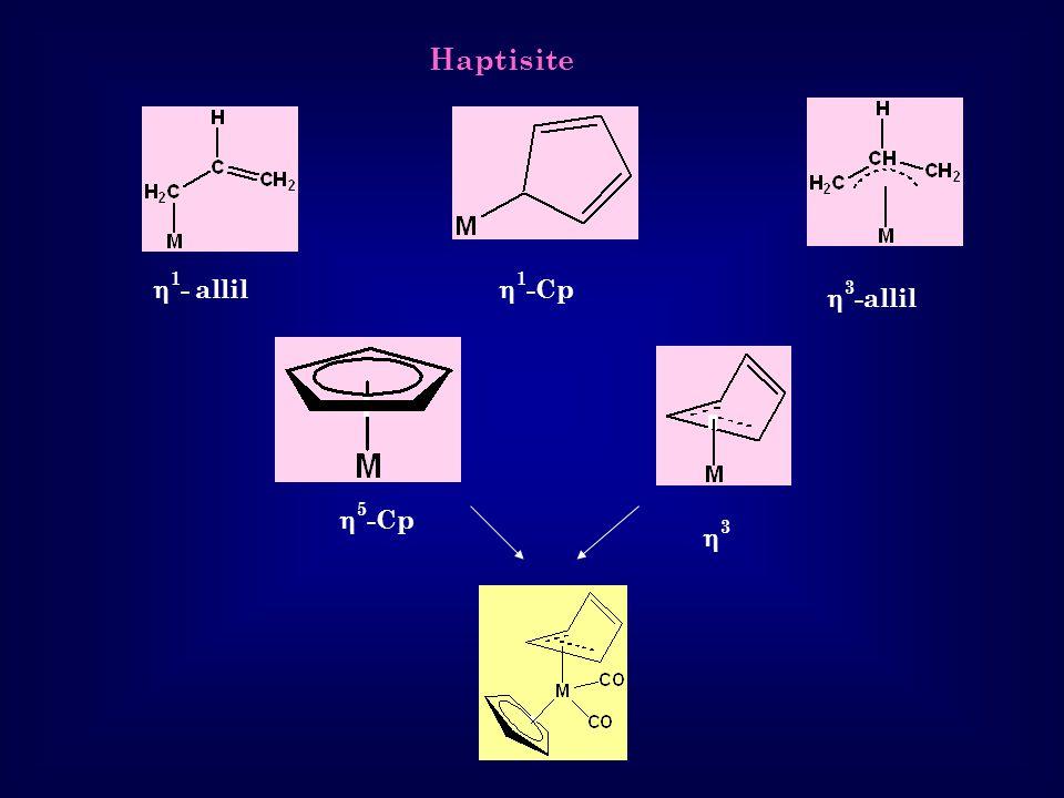 Haptisite  1 - allil  3 -allil  5 -Cp 33  1 -Cp