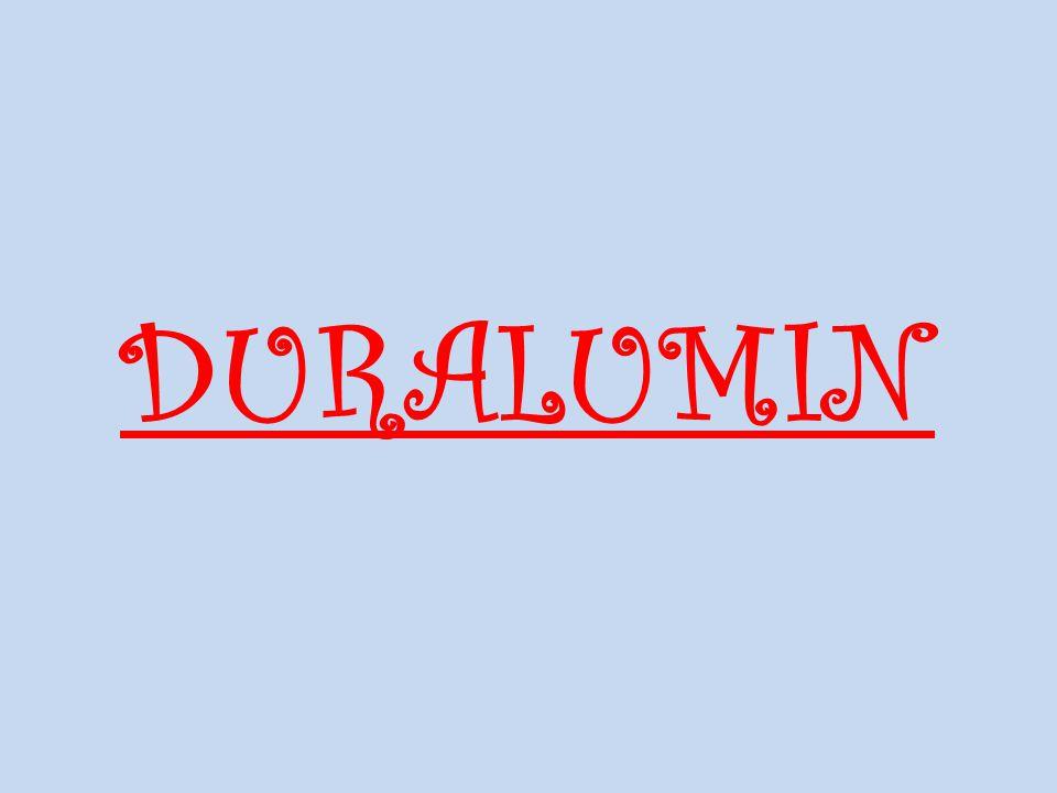 Duralumin Alman metalurjist Alfred Wilm tarafından 1903 yılında geliştirilmiştir.