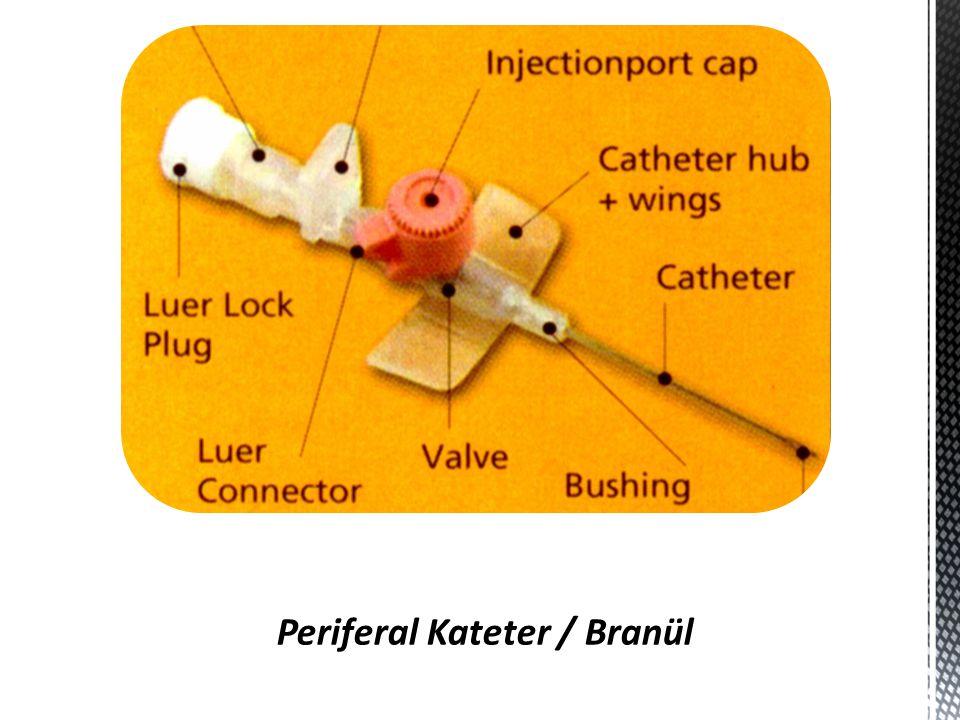 Periferal Kateter / Branül