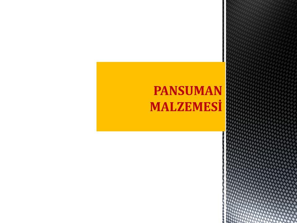 PANSUMAN MALZEMESİ