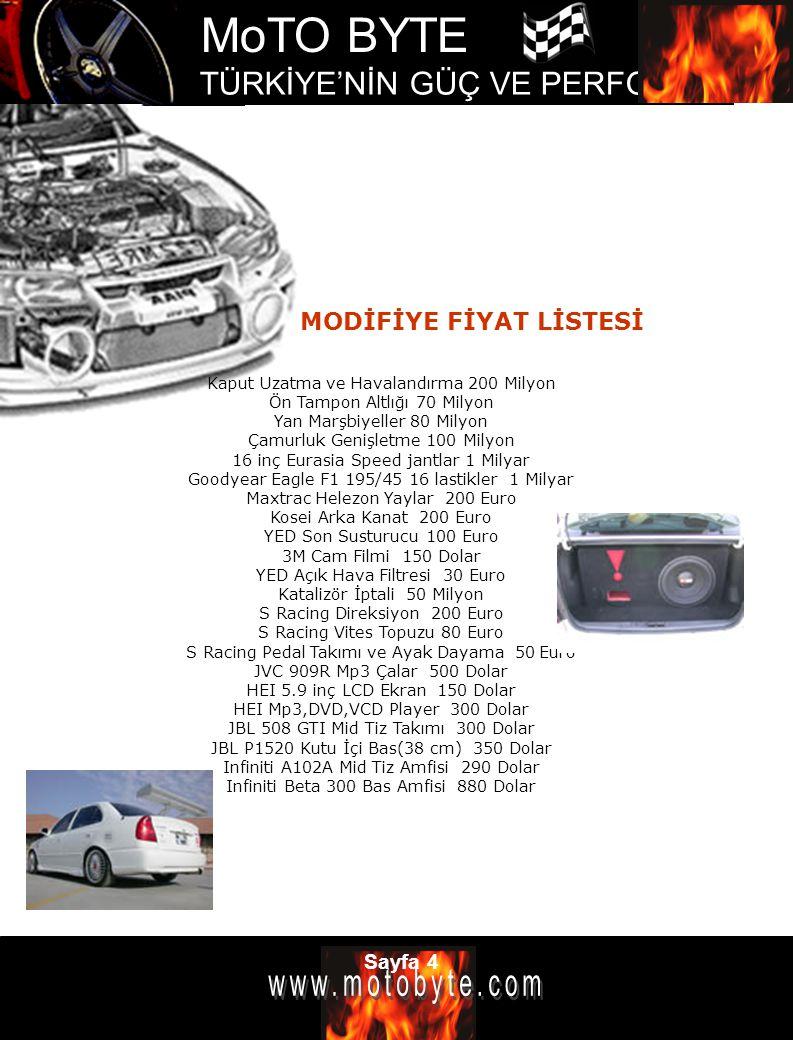 MoTO BYTE TÜRKİYE'NİN GÜÇ VE PERFOMANS DERGİSİ Sayfa 25 2006 BMW M6 Porsche a rakip olacak Şirket ilk M6 modelini 1989 yılında üretmişti.
