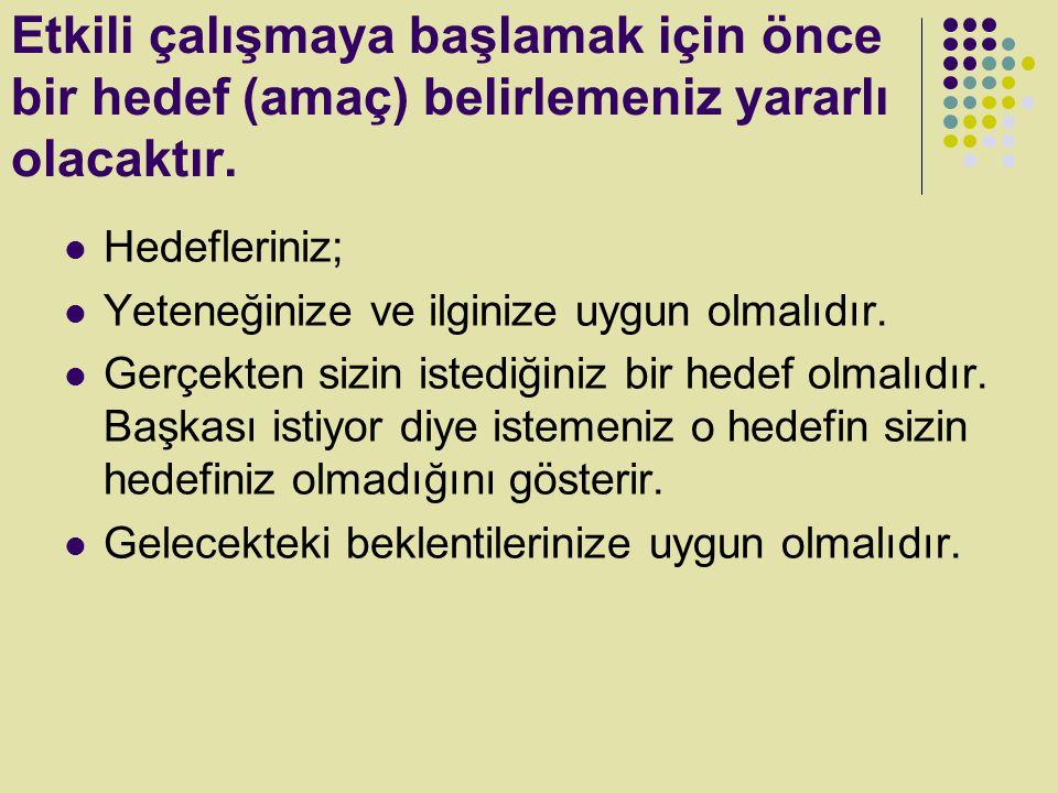 Dersten derse,konudan konuya atlayarak Acaba matematik mi çalışsam, Türkçe mi.