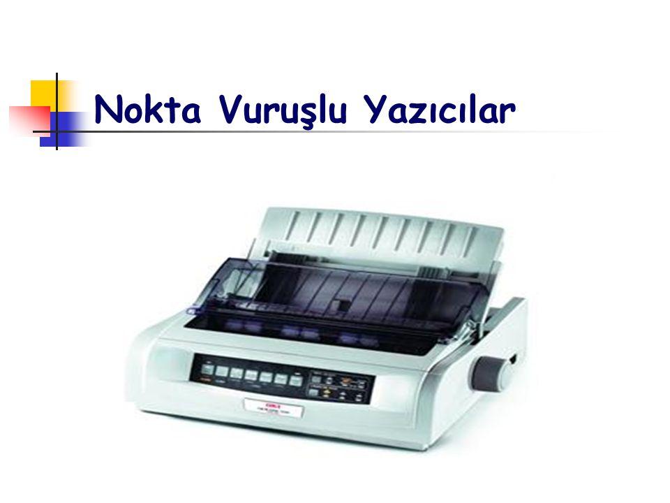 Yazıcının Özellikleri Baskı Kalitesi Yoğunluk Yazı Tipi Çeşidi Hız Kağıt Beslemesi ve Kağıt Formatları Yazıcı Gürültü Seviyeleri Baskı Maliyeti