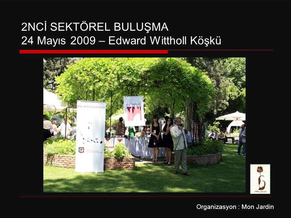 2NCİ SEKTÖREL BULUŞMA 24 Mayıs 2009 – Edward Wittholl Köşkü Organizasyon : Mon Jardin