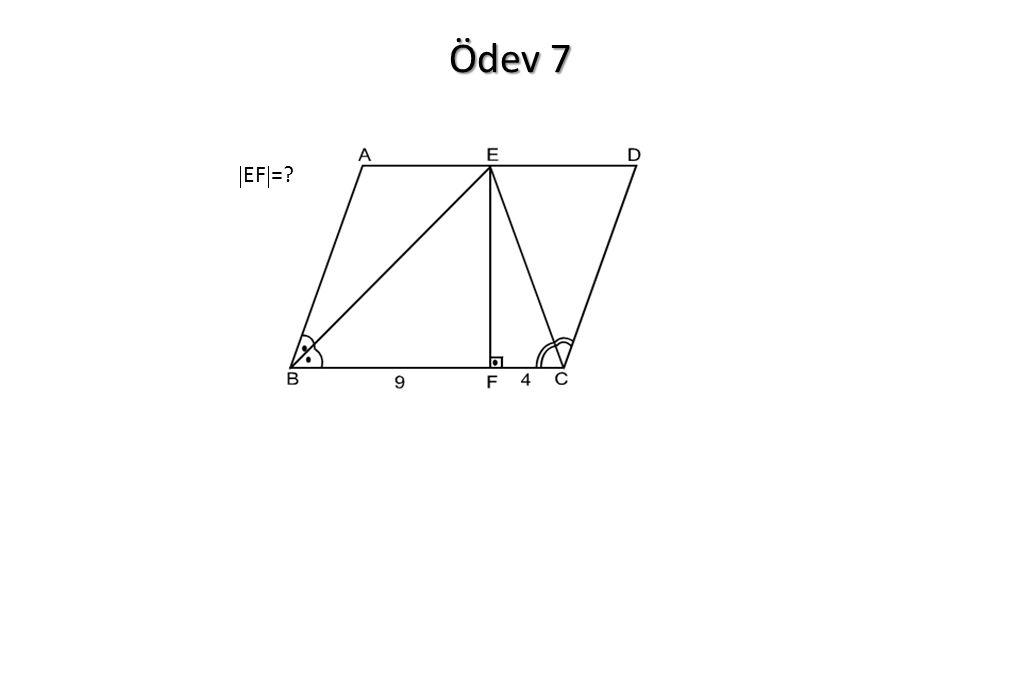 Ödev 7  EF  =?