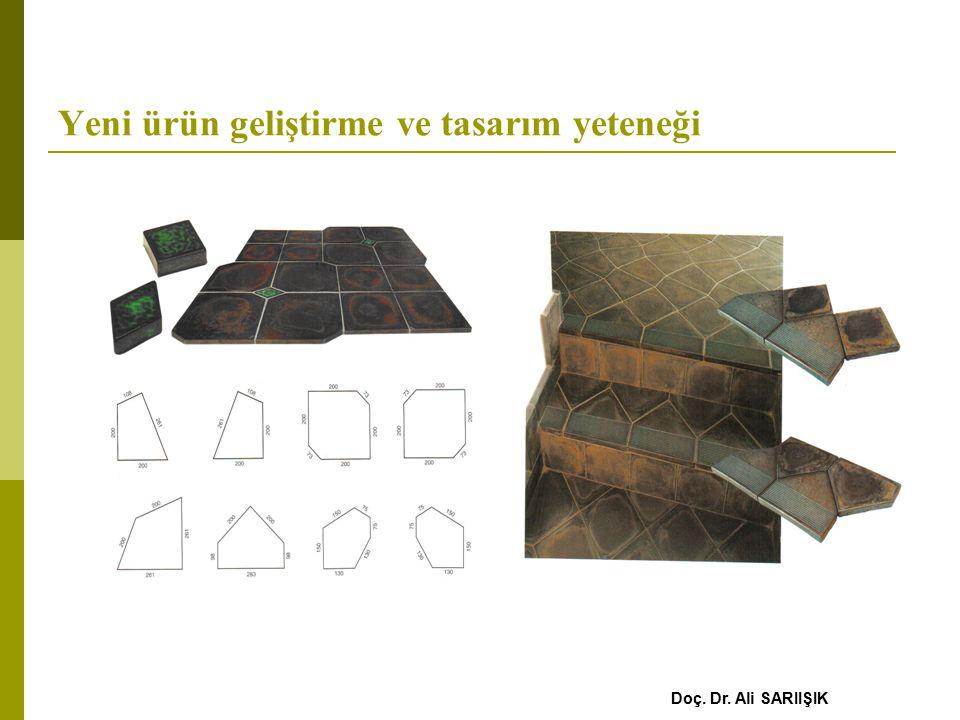 Yeni ürün geliştirme ve tasarım yeteneği Doç. Dr. Ali SARIIŞIK