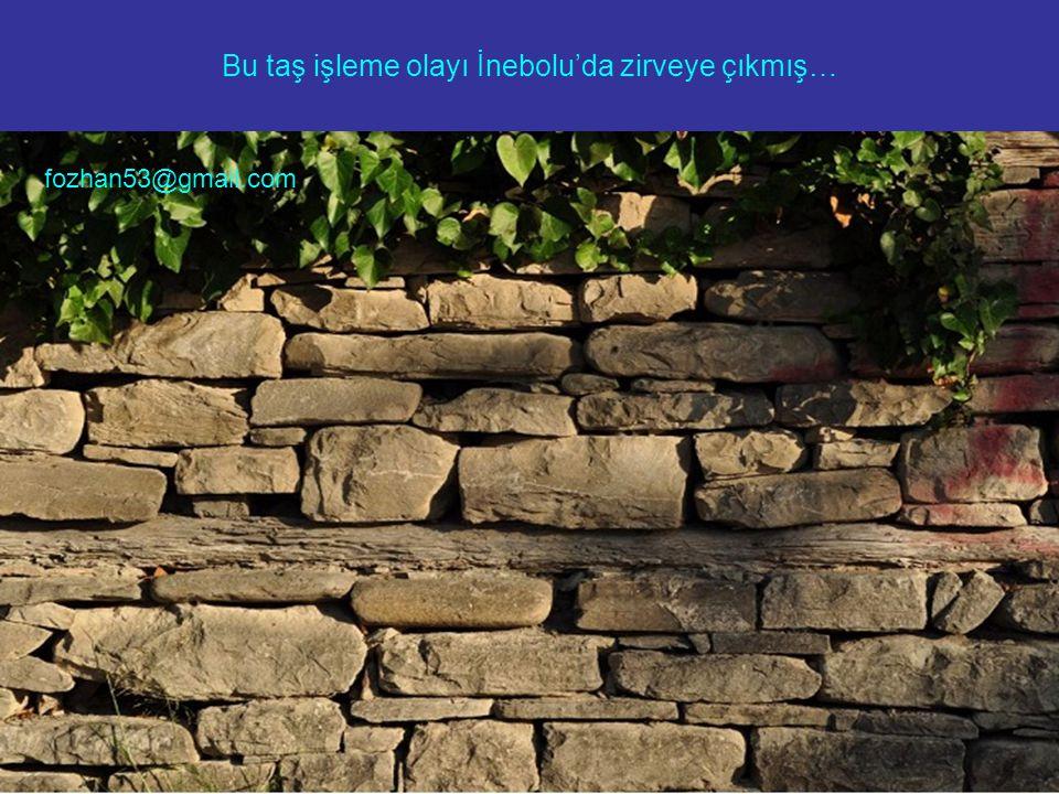 Aralarda hiçbir yapıştırıcı, harç, çimento kullanmadan sadece taşları dizerek yaptıkları bahçe duvarları, sokak merdivenleri, istinat duvarları yıllara meydan okumuş ve hala kullanılıyor, hepsi gerçekten görmeye değer… fozhan53@gmail.com