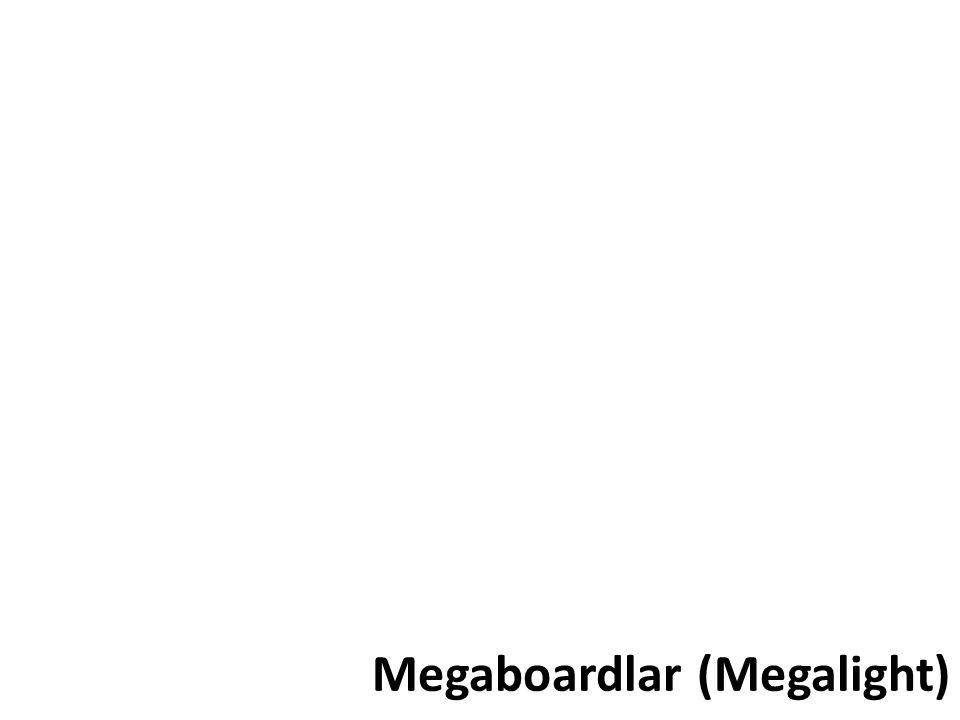Megaboardlar (Megalight)