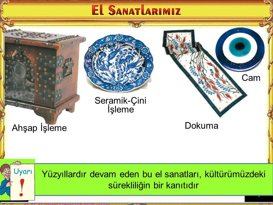 En eski el sanatlarımızdan birisi de halıcılıktır. Ülkemizin farklı bölgelerinde farklı renk desen ve figürlerle yapılan ve farklı hikayeleri olan hal
