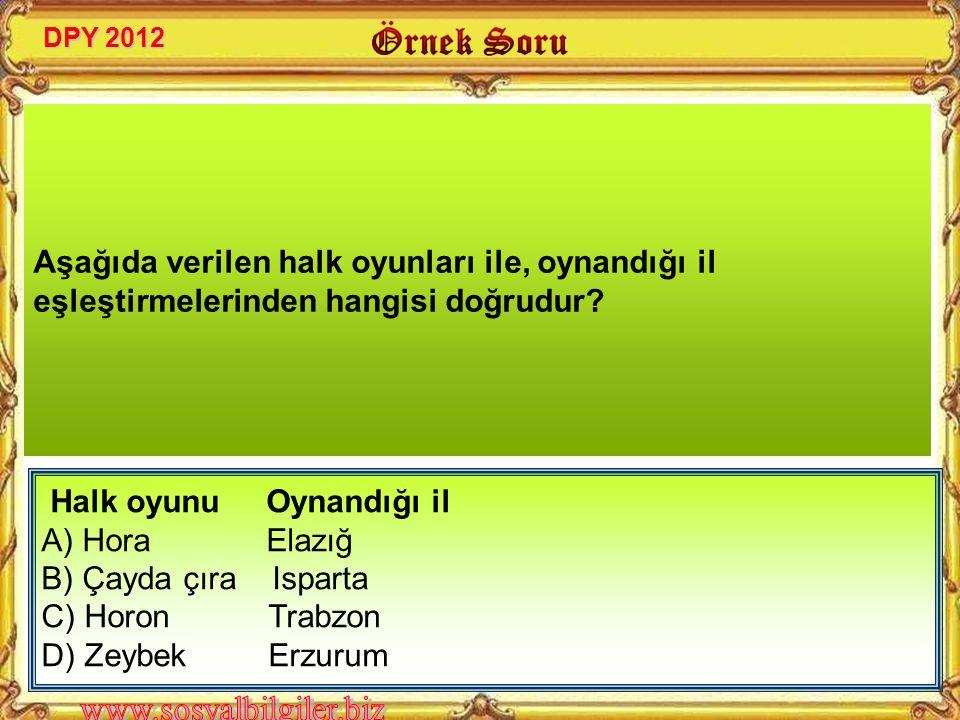 Aşağıdakilerden hangisi, 23 Nisan Ulusal Egemenlik ve Çocuk Bayramının özelliklerinden değildir? DPY 2010 A) Dinî bayramdır. B) Ulusal bir bayramdır.