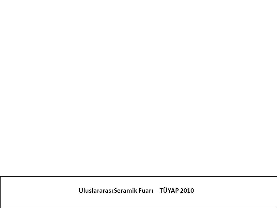 Uluslararası Seramik Fuarı – TÜYAP 2010