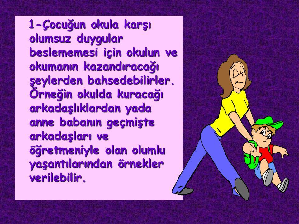 * Anne ve babanın çocuklarının yerine ödevlerini yapmaları çocukların çalışma alışkanlığı kazanmalarını ve sorumluluk duygusunu geliştirmelerini engelleyecektir Anne ve babanın çocuklarının yerine ödevlerini yapmaları çocukların çalışma alışkanlığı kazanmalarını ve sorumluluk duygusunu geliştirmelerini engelleyecektir