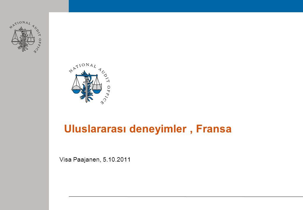 Uluslararası deneyimler, Fransa Visa Paajanen, 5.10.2011