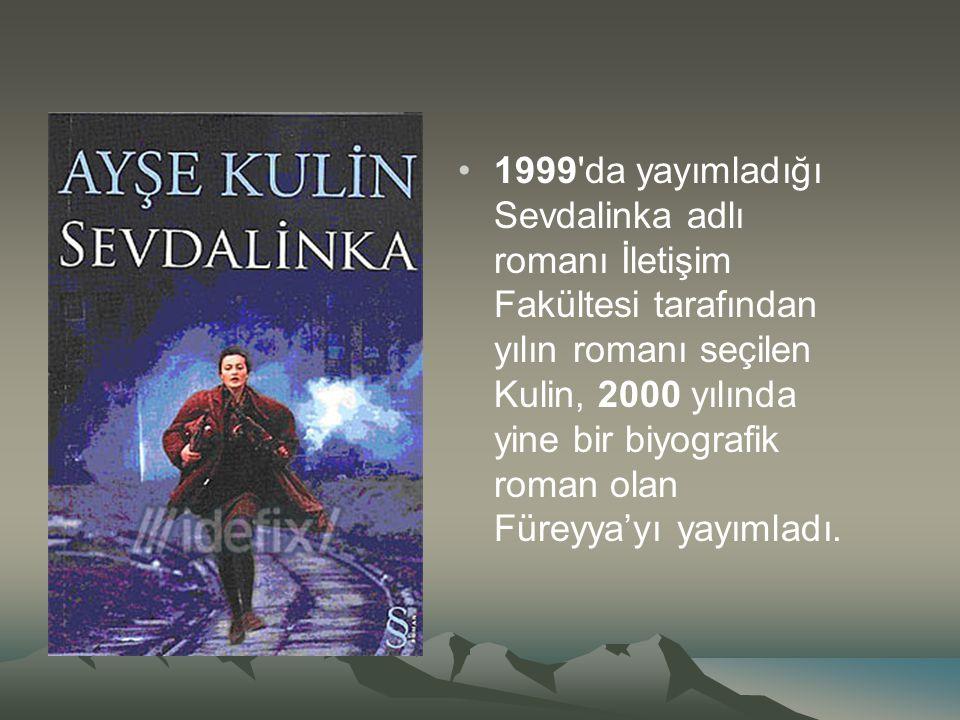  1997 de yılında okuyucuyla buluşan Adı Aylin adlı biyografik romanı ile İstanbul Üniversitesi İletişim Fakültesi tarafından yılın yazarı seçilen Kulin, 1998 yılında Geniş Zamanlar adlı öykü kitabını yayımladı.
