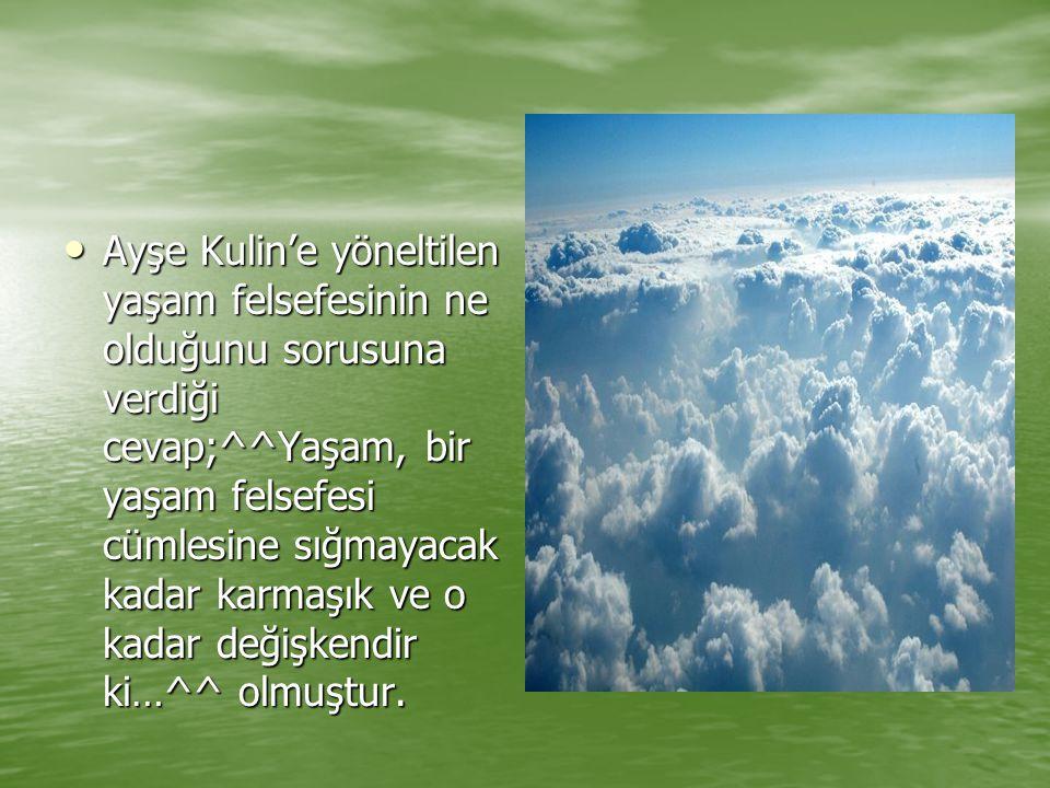 Ayşe Kulin'in tercih ettiği kitaplar, her yıl İngiltere'de ödül alan kitapların yanı sıra yurt içinde Türk romancılarının yeni çıkan kitapları olarak belirtiyor.