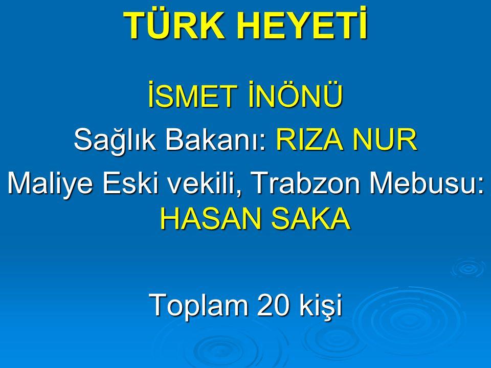 Lozan'da: Musul, Hatay, Boğazlar, Kıbrıs, Ege Adaları konuları Türkiye lehine çözülemedi.