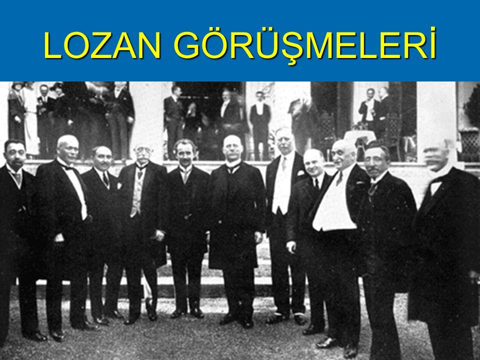 I.Dönem Konferansı (1 Kasım 1922-4 Şubat 1923) II.Dönem Konferansı (23 Nisan 1923-24 Temmuz 1923)